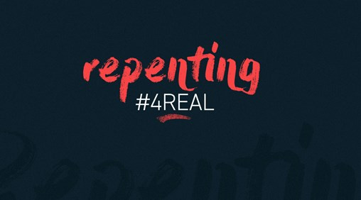 Repenting #4Real blurred banner image